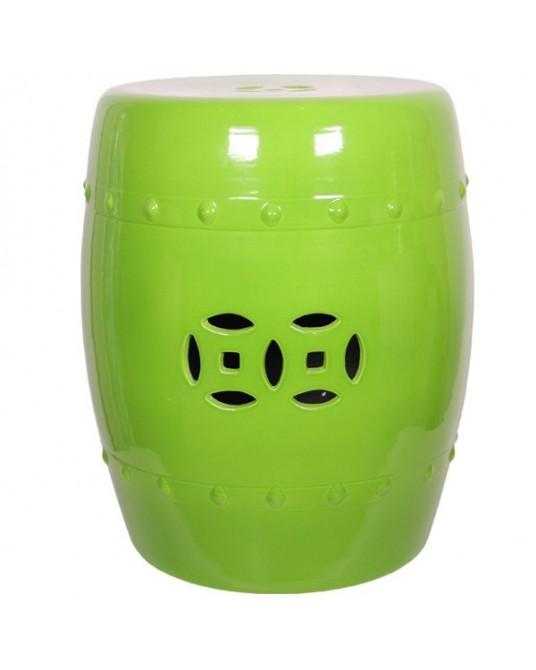 Tamborete Lime Green