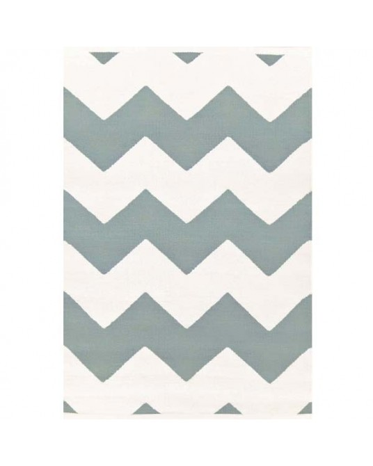 Tapete Chevron LB White