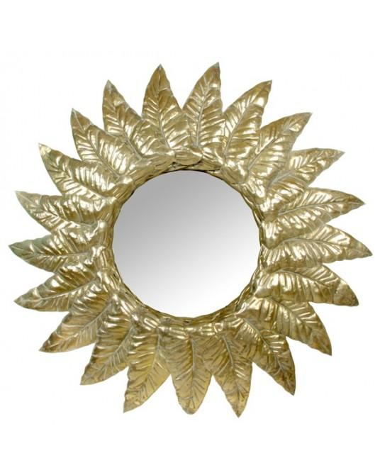 Espelho Gold Leaves