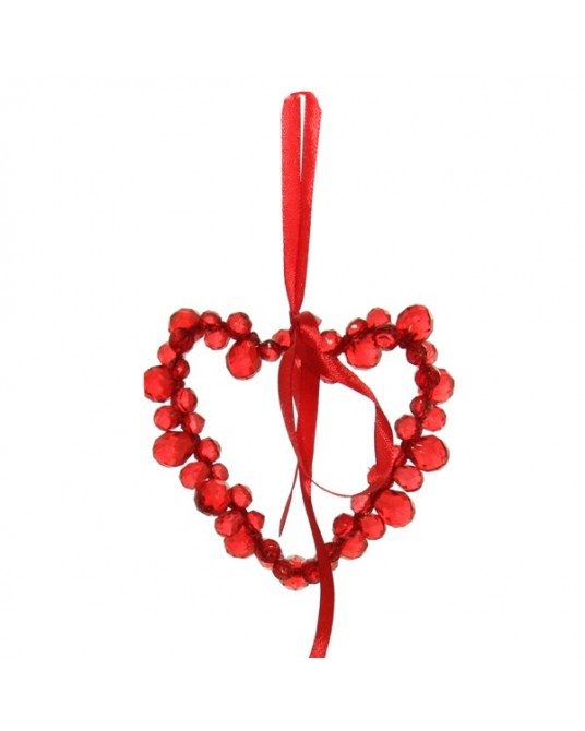 Crown wire Red Ribbon 11 cm