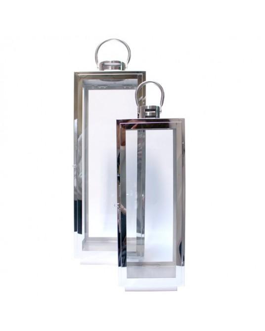 Lanterna Silver Edge M
