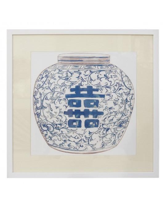 Quadro Vaso China I