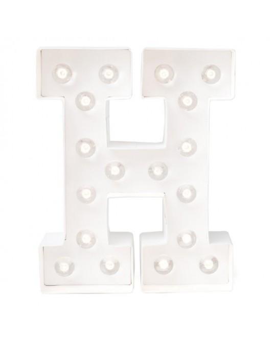 Letter Lights M