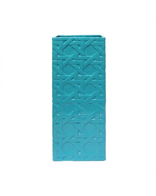 Jarra Lattice Turquoise Alta