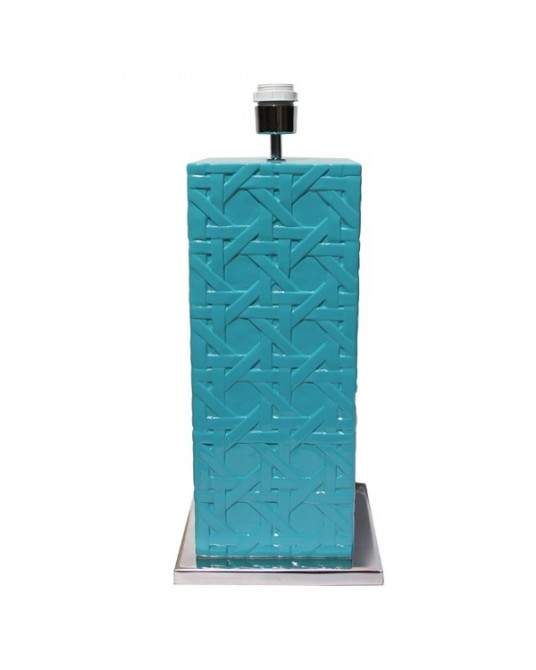 Base Lattice Turquoise Alto