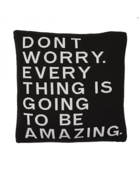 "Pillow ""Dont Worry"""