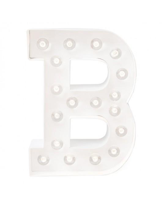 Letra Luzes B