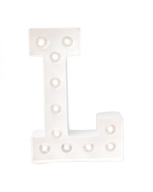 Letter Lights L