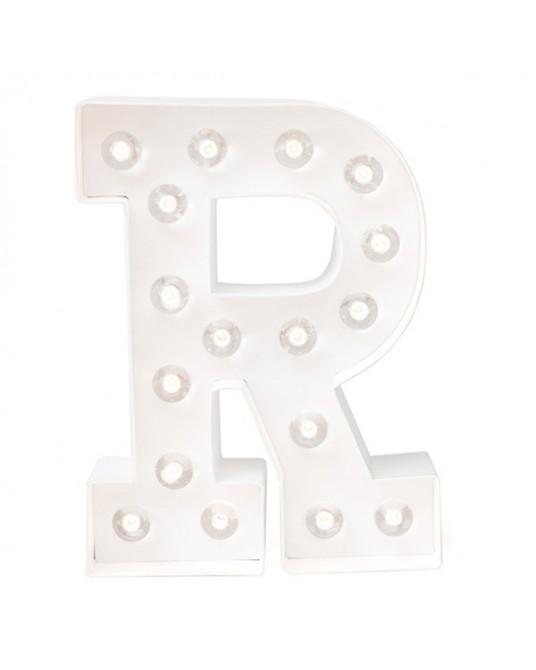 Letter Lights R