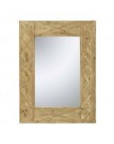 Espelho Rec Pattern Madeira