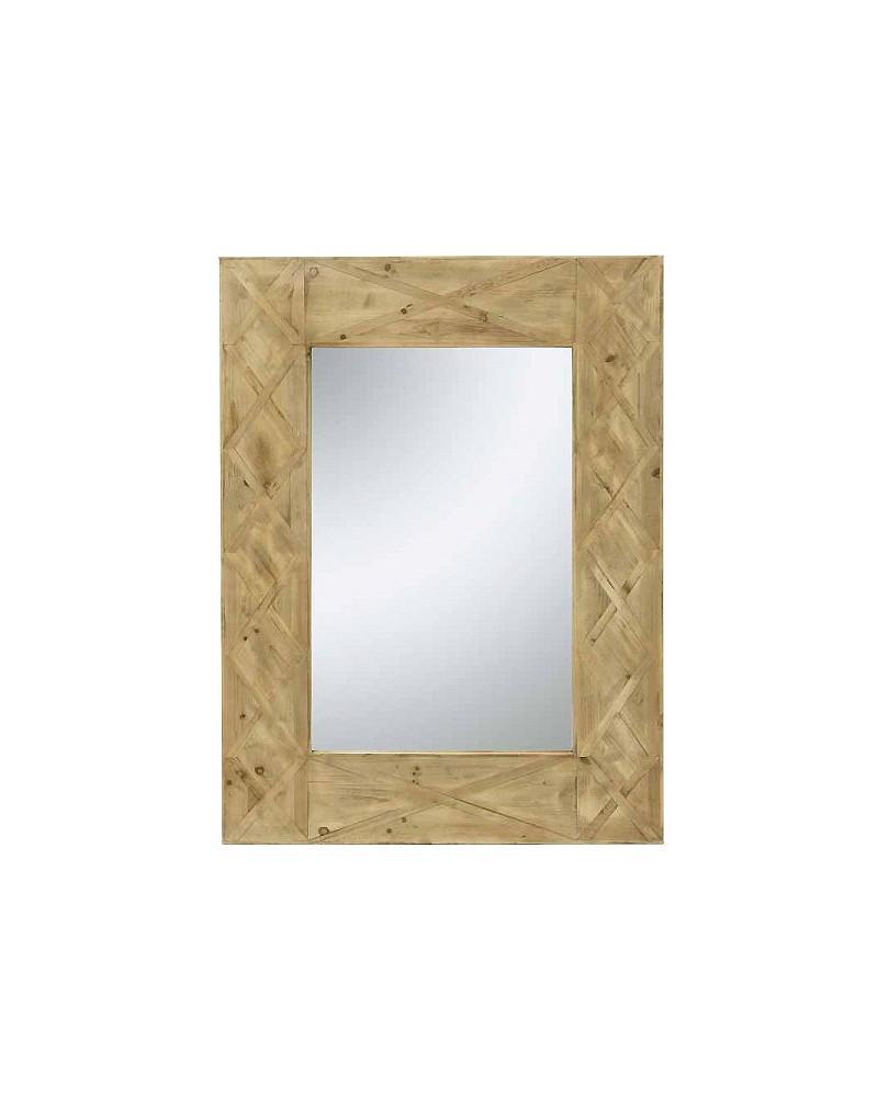 Espelho Rect. Conchas