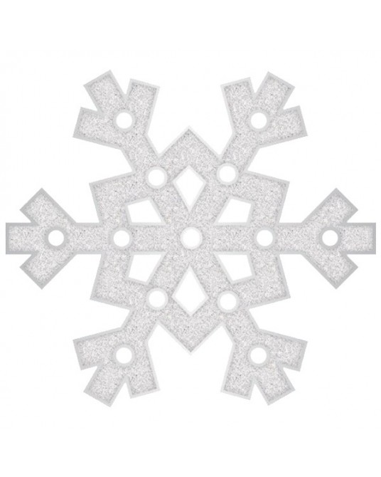 """Snowflake Glitter"" Luzes"