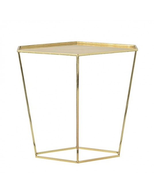 Side Table Geo Gold