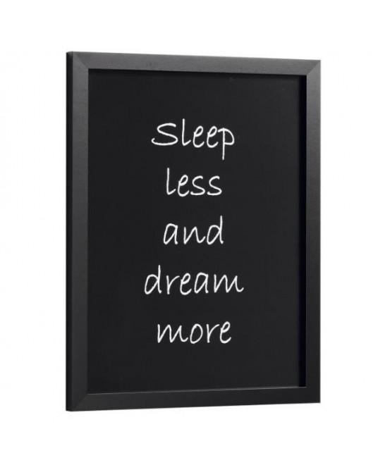 "Quadro ""Sleep Less"""