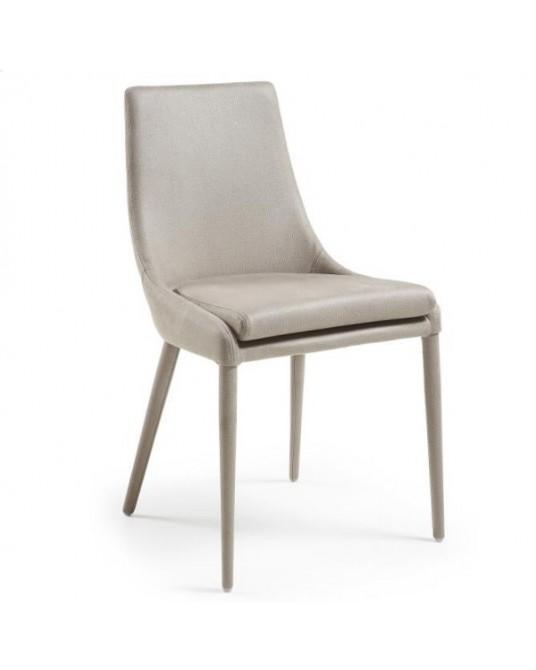Cadeira Dant Eco-Nobuck Beige