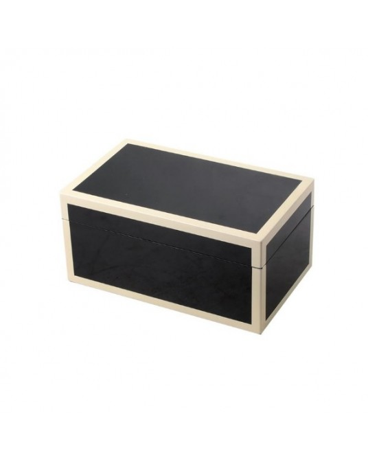 Box Lacquered Black