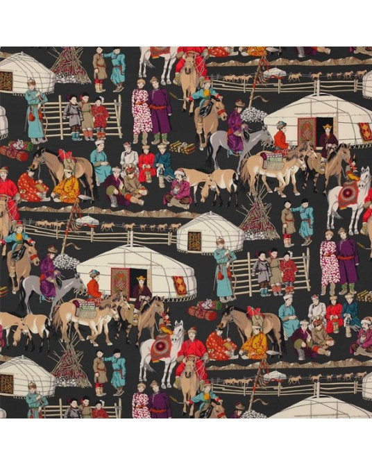 Hazara Epices Fabric