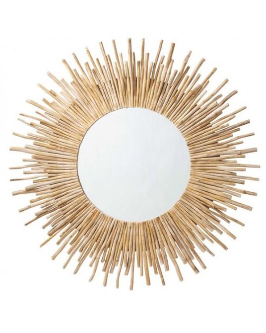 Espelho Wood Sun