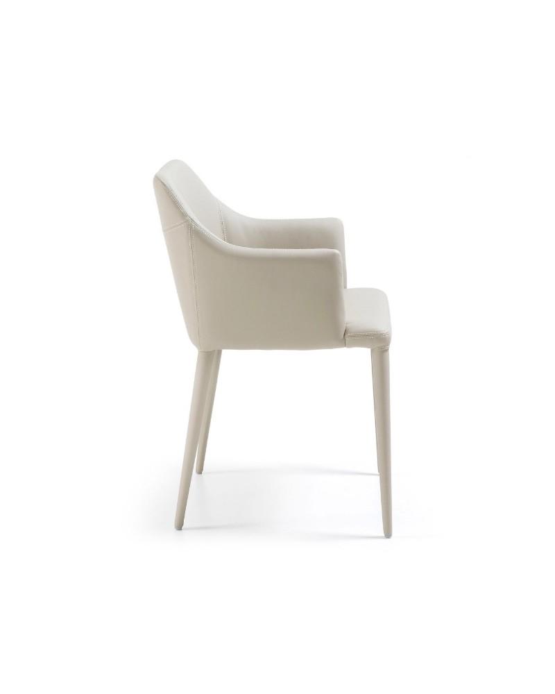Cadeira Danai PU Pearl