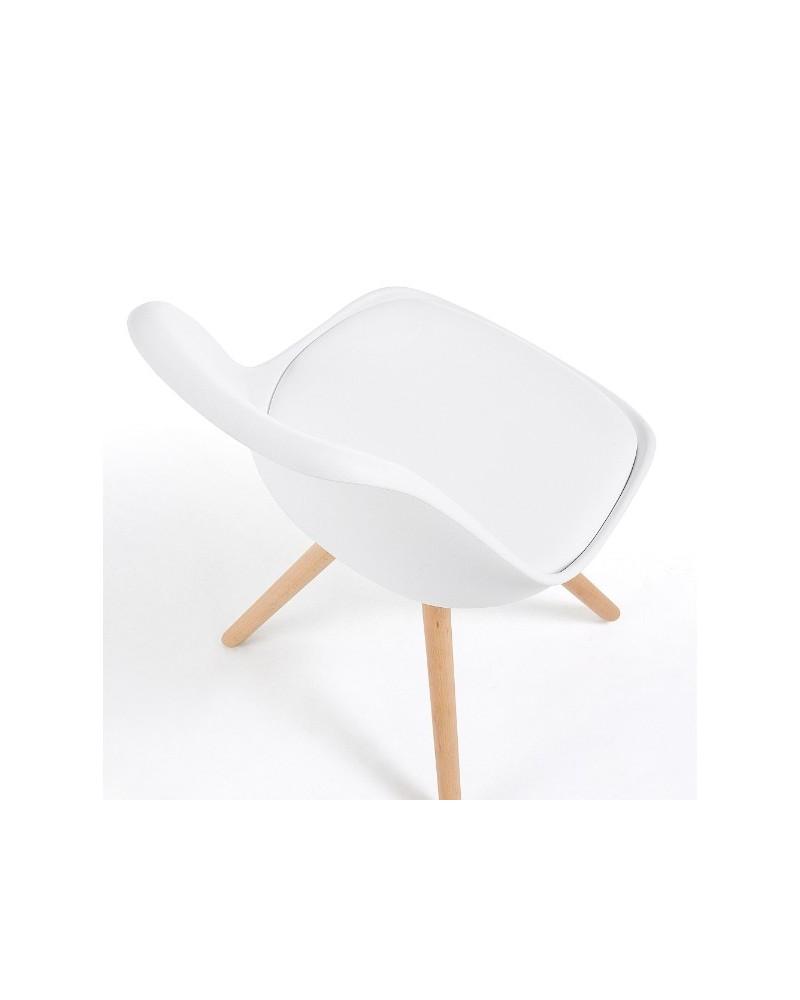 Cadeira Danai Eco-Nobuck Beige