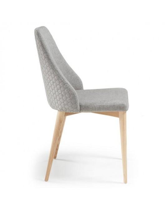 Chair Dant Eco-Nobuck Grey