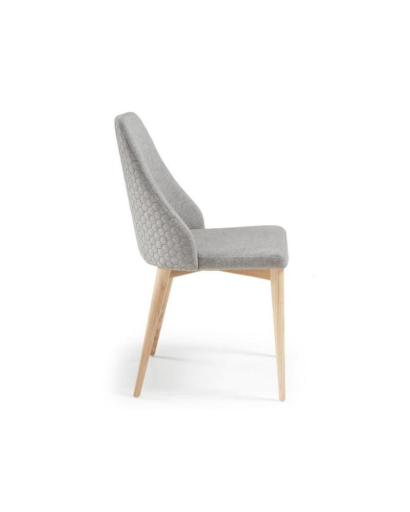 Cadeira Dant Eco-Nobuck Grey