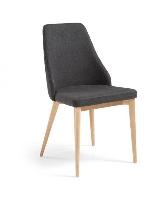 Chair Roxie Tecido Cinza