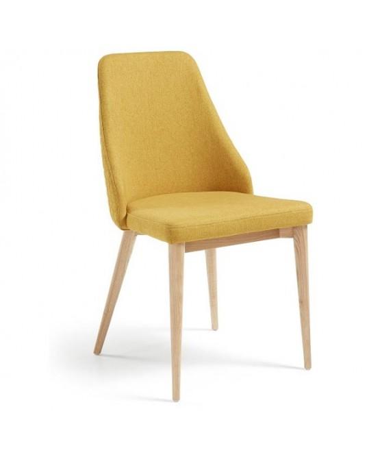 Cadeira Roxie Tecido Azul