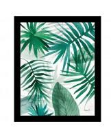 Quadro Palm Leaves II