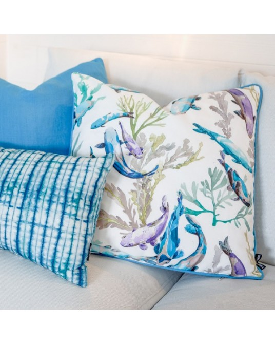 Hazara Turquoise Fabric