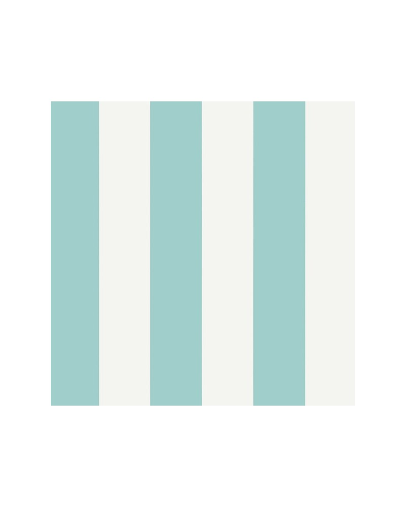 Summer Stripe Turquoise