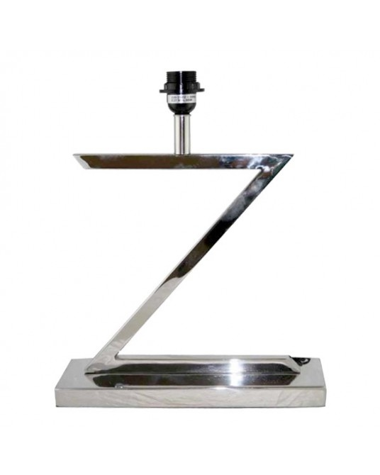 Table Lamp Chrome Z
