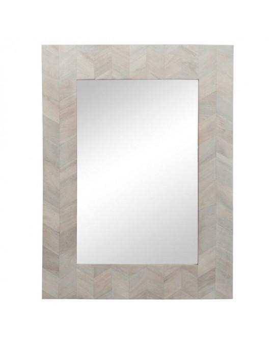 Espelho Chevron Wood