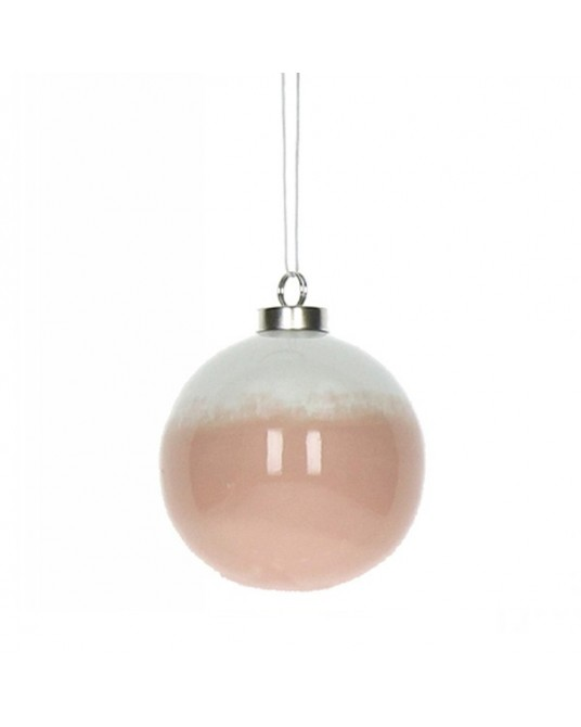 Bola de Natal Ombré Pink