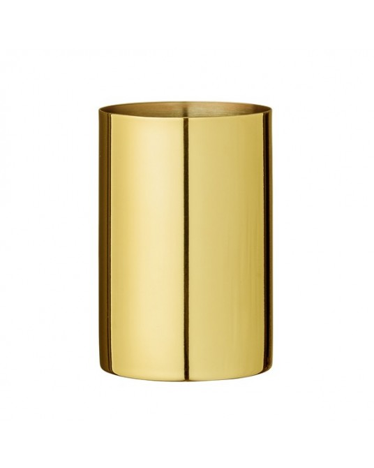 Gold Metal Toilet Cup