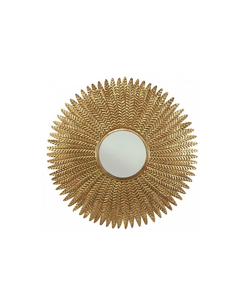 Espelho Peacock Gold