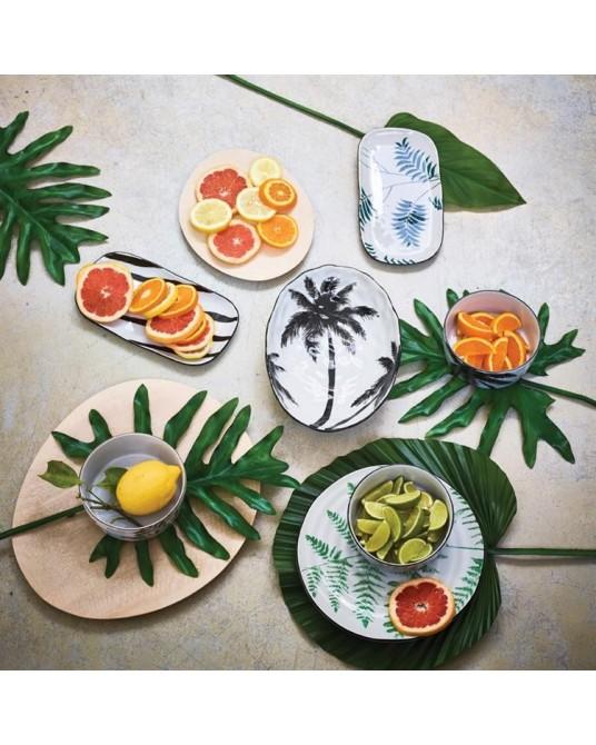 Tigela Black Palm