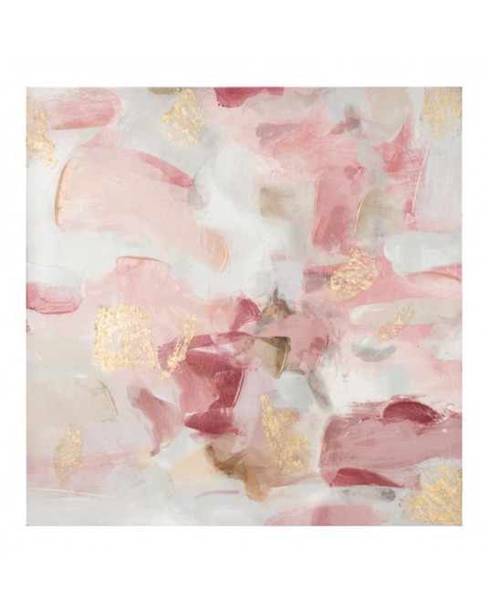 Canvas Petal Pink Gold