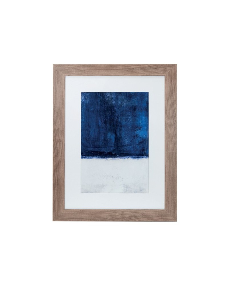 Quadro Geometric Blue I