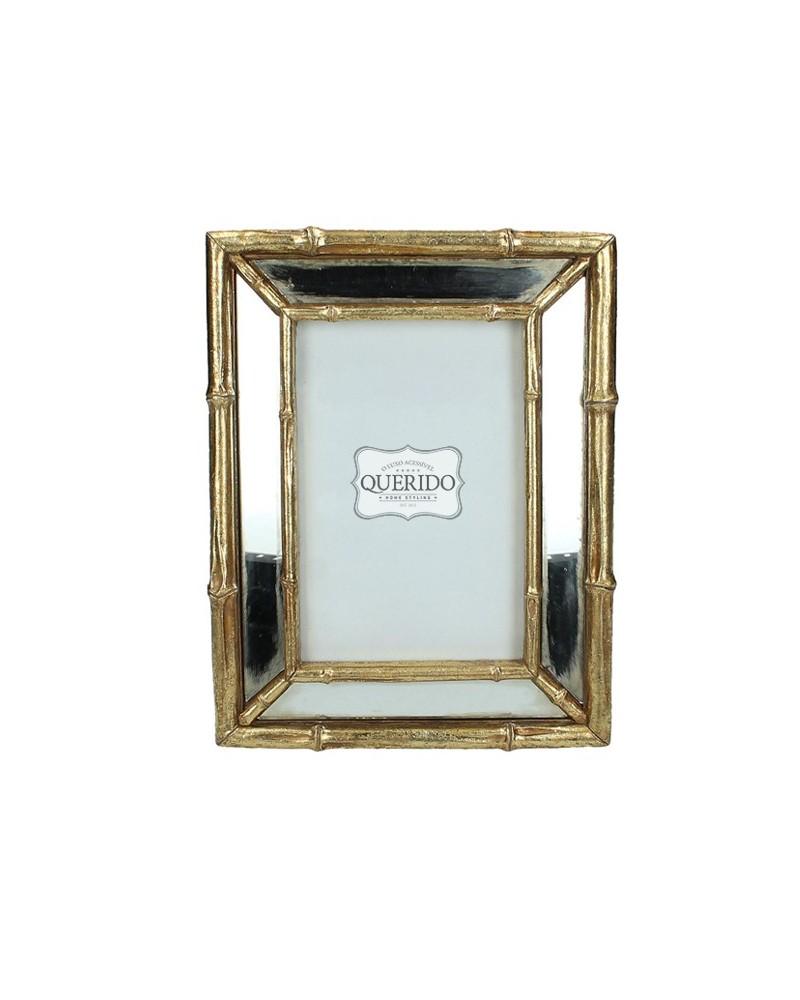 Moldura Bamboo Gold