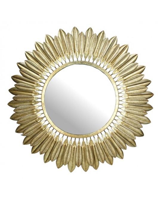 Espelho Plumage Gold