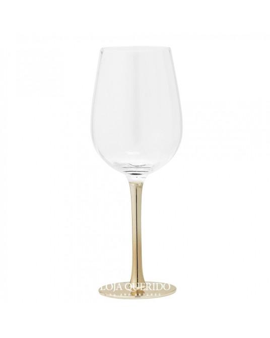 Copo Vinho Gold