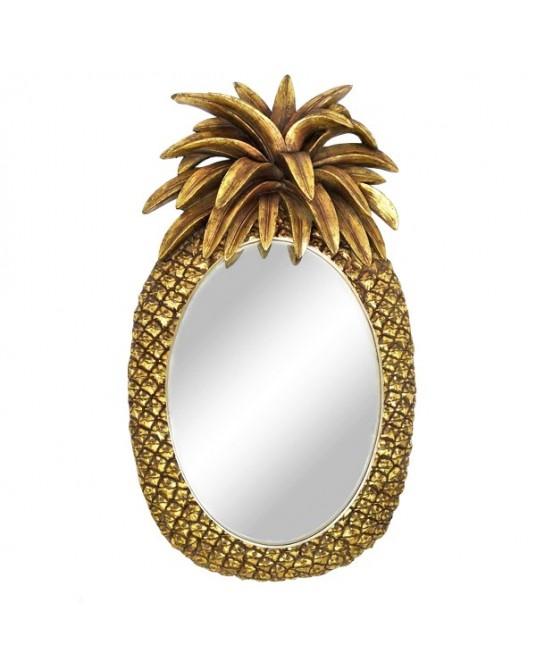 Espelho Pineapple Gold