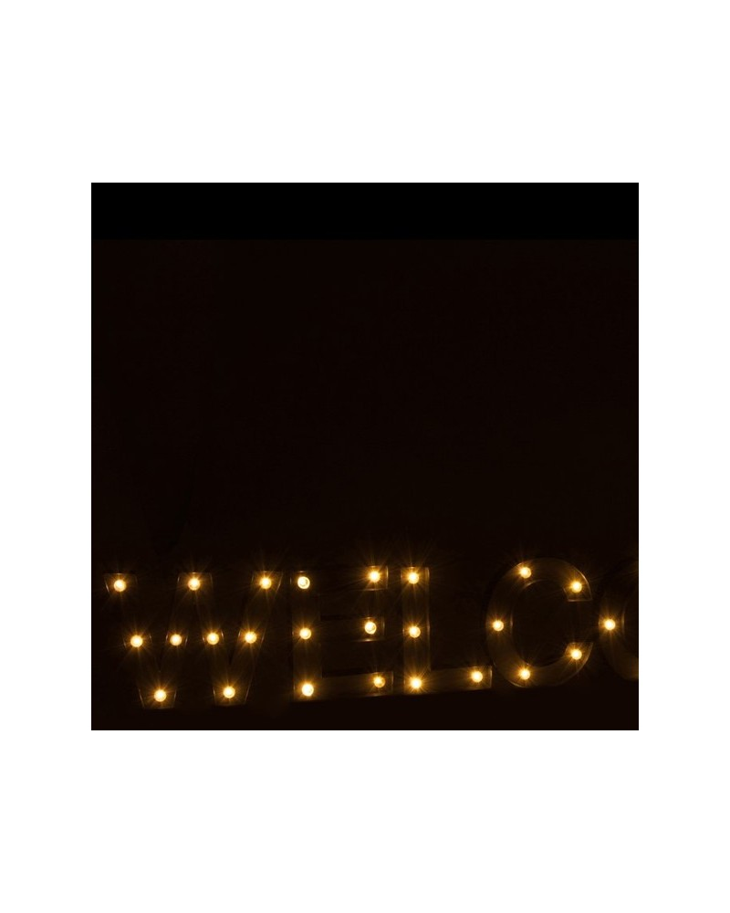 Letras Love LED Metal Cinza