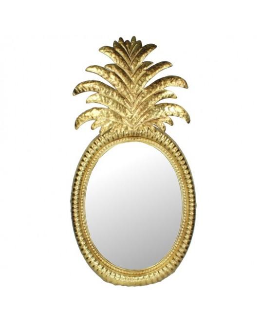 Espelho Gold Pine Metal