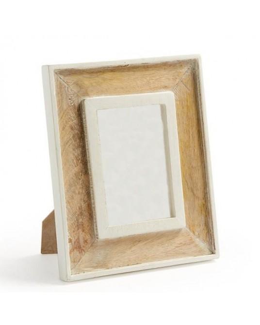 Moldura Cork White