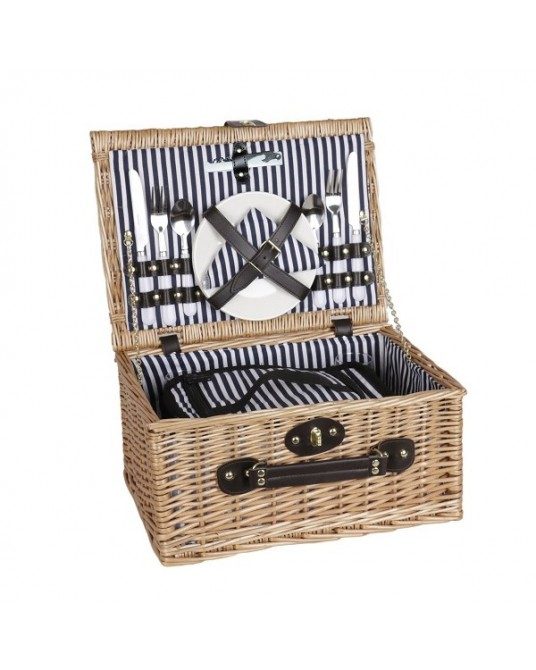 Picnic Stripes Black