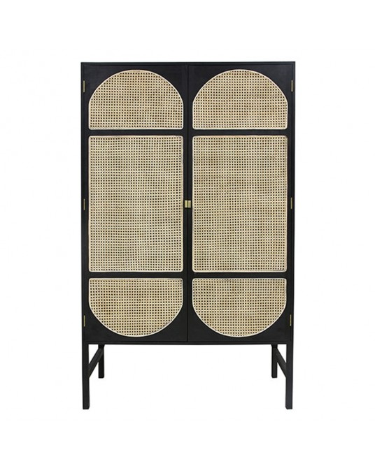 Wardrobe Retro Black Basket