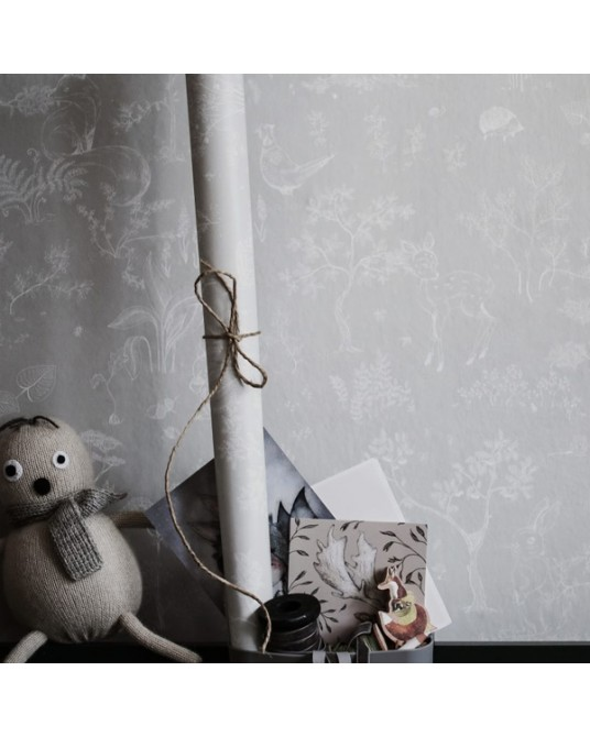 Wallpaper Hollie Grey