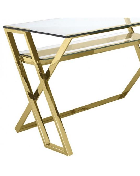 Gold Grace Desk